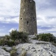 Old watchtower on Mediterranecoast — Stock Photo #40870709