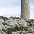 Old watchtower on Mediterranecoast — Stock Photo #40870945