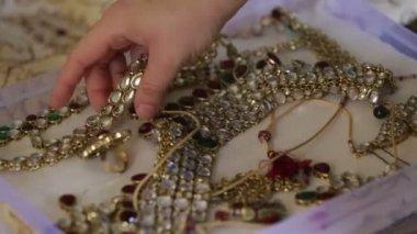 Jewelry box — Stock Video