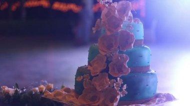 Wedding cake — Stock Video