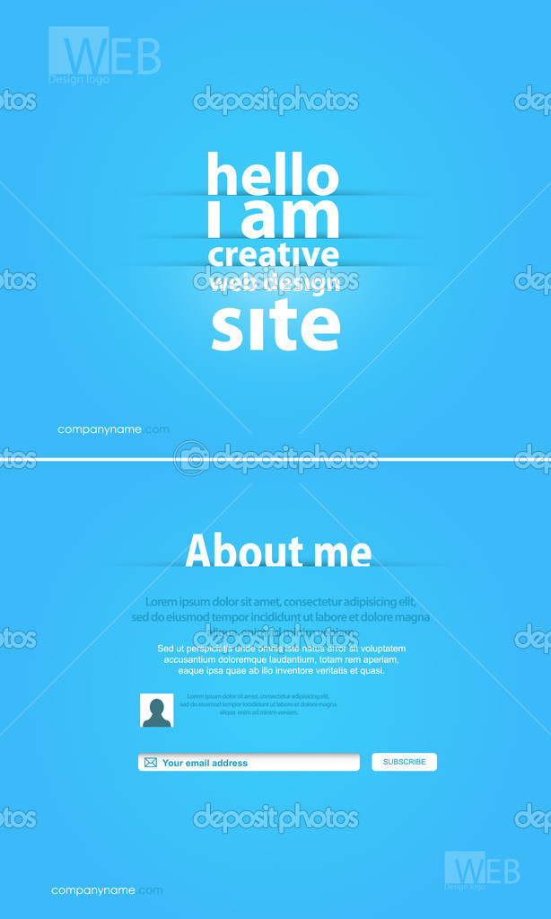 Web design  — Stock Vector #12393420