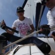 "Stock Video: Sailing regatt""Sail & Fun Trophy 2012"""