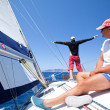 Sailing regatta Sail & Fun Trophy - Foto de Stock