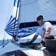 Sailing regatta Sail & Fun Trophy - Foto Stock