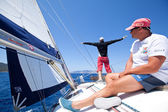 Sailing regatta Sail & Fun Trophy — Стоковое фото