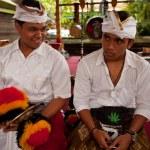Melasti Ritual before Balinese Day of Silence in Ubud, Bali, Indonesia. — Stock Photo