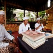 Melasti Ritual before Balinese Day of Silence in Ubud, Bali, Indonesia. — Stock Photo #12584170