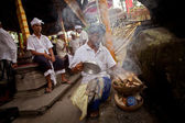 Melasti Ritual before Balinese Day of Silence in Ubud, Bali, Indonesia. — Stockfoto