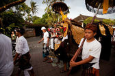 Melasti Ritual before Balinese Day of Silence in Ubud, Bali, Indonesia. — Stock fotografie