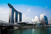 Marina Bay Sands Hotel — 图库照片