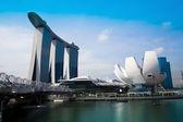 Marina Bay Sands Hotel — Stock Photo