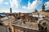 Lviv's roof, Eastern Ukraine. — Foto Stock