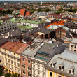 View of the old town of Cracow, Poland. — Stock Photo