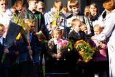Dzień wiedzy w rosji. — Zdjęcie stockowe