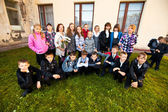 Día de conocimiento en rusia. — Foto de Stock