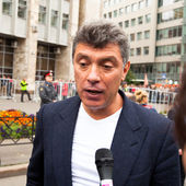 Boris Nemtsov — Stock Photo