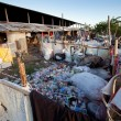 Waste at the dump on Bali island — Stockfoto