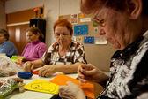 трудотерапия для пожилого — Стоковое фото