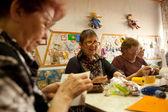 Terapia ocupacional para ancianos — Foto de Stock