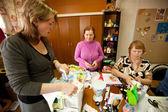 Terapia ocupacional para idosos — Foto Stock