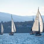 Sailing regatta Viva Greece 2012 — Stock Photo #13438177