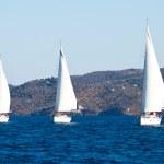 Sailing regatta Viva Greece 2012 — Stock Photo #13438185