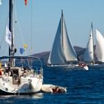 Sailing regatta Viva Greece 2012 — Stock Photo #13438195