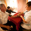 Day of Health in Center of social services for pensioners and disabled — Stock Photo #13440046