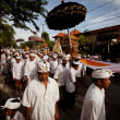 Melasti Ritual is performed before Nyepi - a Balinese Day of Silence — Stock Photo #13440222