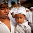 Melasti Ritual is performed before Nyepi - a Balinese Day of Silence — Stock Photo #13440227