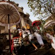 Performing Melasti Ritual before Nyepi — Stockfoto