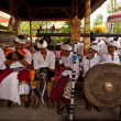 Melasti Ritual is performed before Nyepi — Stockfoto