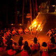 Stock Photo: Women Kecak Fire Dance