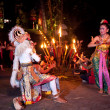 Women Kecak Fire Dance — Foto de Stock