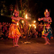 Women Kecak Fire Dance — Stock Photo #13440294