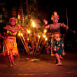 Women Kecak Fire Dance — Stock Photo #13440295