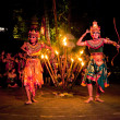 Women Kecak Fire Dance — Stock Photo