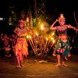 Women Kecak Fire Dance - Stock Photo