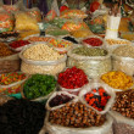 Street market in Georgia — Stock Photo #13440575