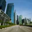 Singapore business district — Stockfoto #13440875