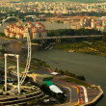 Singapore, river Hongbao — Stock Photo