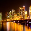 Singapore city skyline at night — Stock Photo #13441134