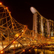 Singapore, in the night time — Foto Stock