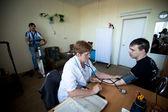 Gün sağlık merkezi sosyal hizmetler yaşlılar ve engelliler için — Stok fotoğraf