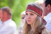 Beautiful russian girl — Stock Photo