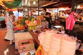 Street market in Georgia — Stock Photo