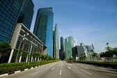 Singapore business district — Foto Stock