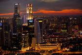 Uma visão de singapura — Foto Stock