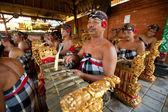 Balinese musicians — Stock Photo