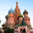 St Basil's Cathedral in Red Square on Moscow, Russia. - Stock Photo